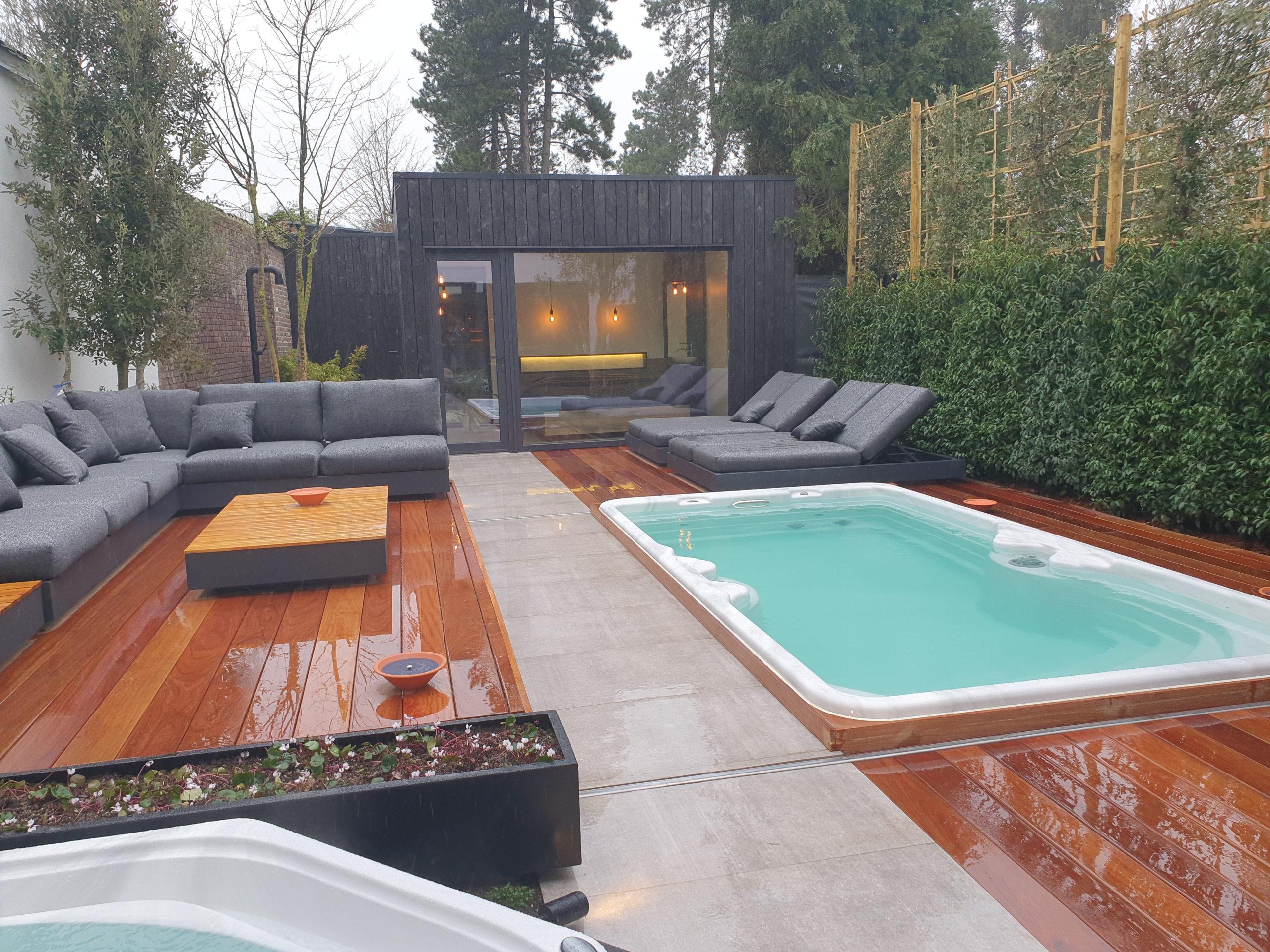 Belgisch fabricaat Belle & Moi Outdoor Swim Wellness